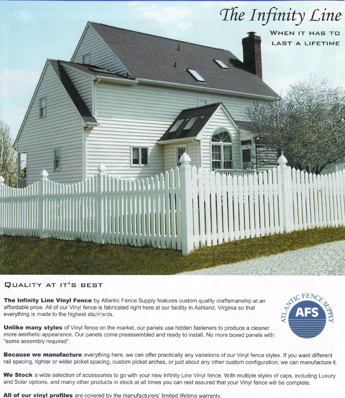 Narron fences vinyl below youll find photos of some of the vinyl styles we offer baanklon Choice Image